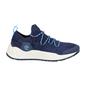 נעלי סניקרס טימברלנד לגברים Timberland Solar Wave Low Knit - כחול