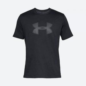 חולצת T אנדר ארמור לגברים Under Armour Big Logo SS - שחור