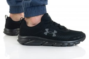 נעלי ריצה אנדר ארמור לגברים Under Armour Charged Assert 8 - שחור מלא