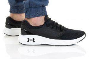 נעלי ריצה אנדר ארמור לגברים Under Armour Charged Vantage - שחור/לבן