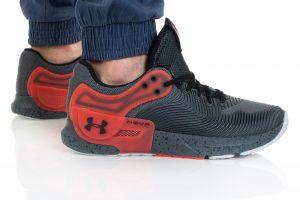 נעלי אימון אנדר ארמור לגברים Under Armour HOVR Apex 2 - אפור