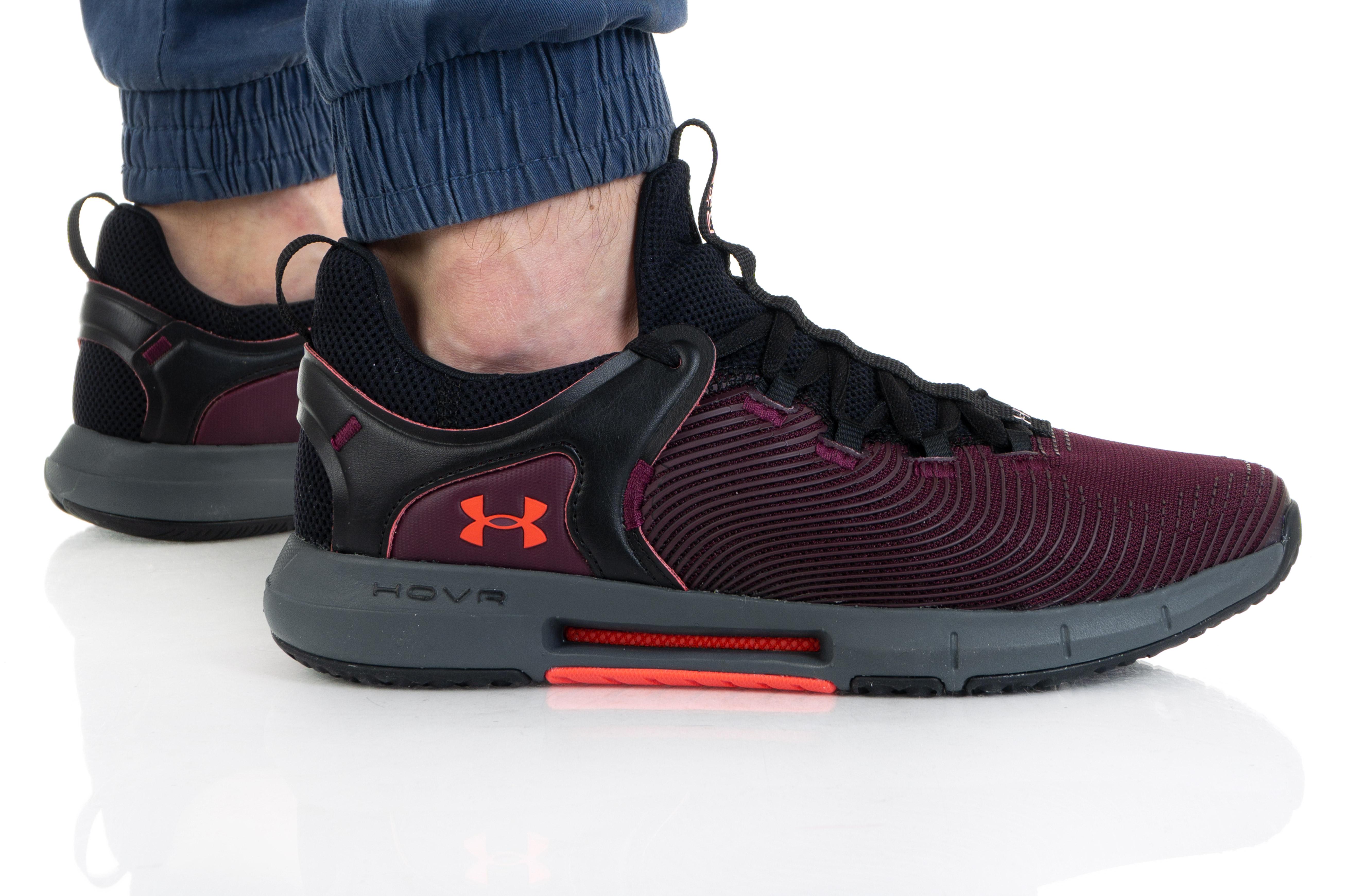 נעלי ריצה אנדר ארמור לגברים Under Armour HOVR Rise 2 - שחור/אדום