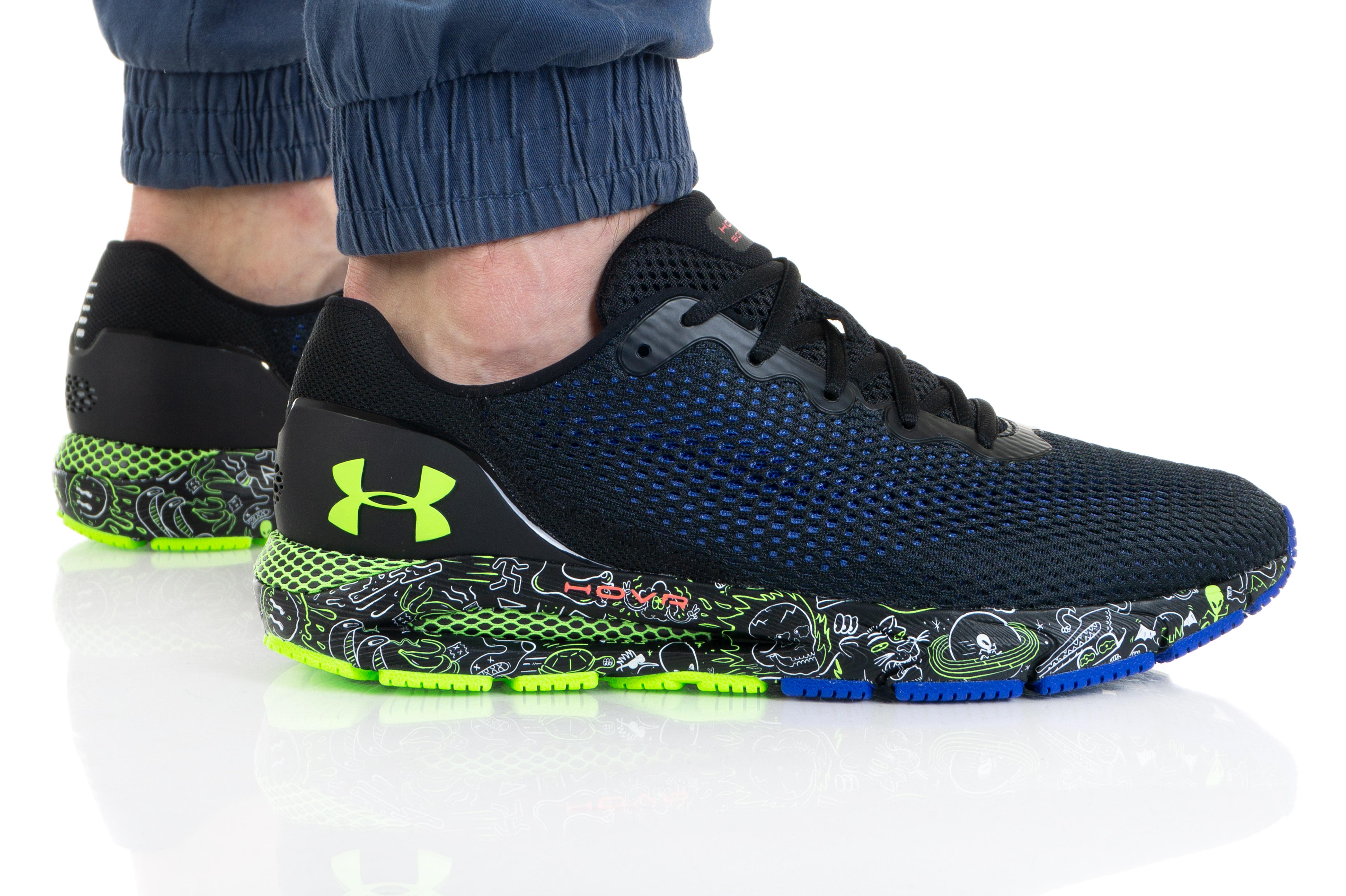 נעלי ריצה אנדר ארמור לגברים Under Armour HOVR Sonic 4 FnRn - שחור