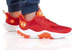 נעלי כדורסל אנדר ארמור לגברים Under Armour Spawn 3 - אדום