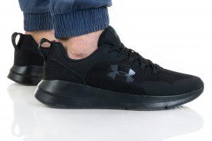 נעלי ריצה אנדר ארמור לגברים Under Armour UA Essential - שחור