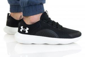 נעלי ריצה אנדר ארמור לגברים Under Armour Victory - שחור/לבן