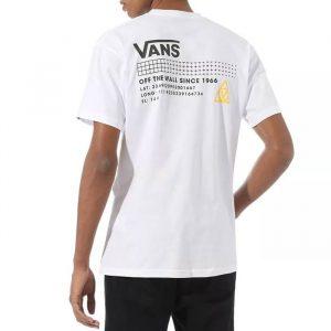 חולצת T ואנס לגברים Vans 66 Supply SS - לבן
