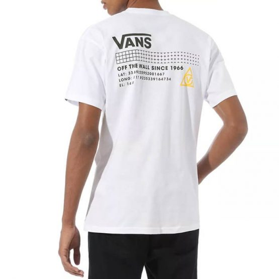 חולצת T ואנס לגברים Vans 66 Supply SS - לבן