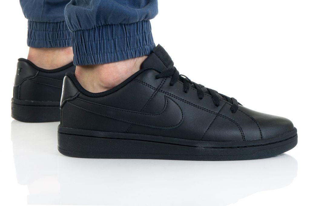 נעלי סניקרס נייק לגברים Nike COURT ROYALE 2 - שחור מלא