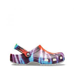 כפכפי Crocs לגברים Crocs Classic Tie Dye Graphic Clog - צבעוני