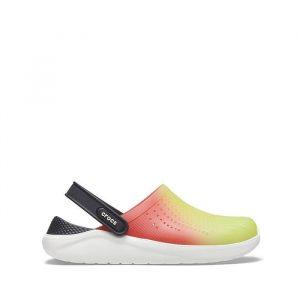 כפכפי Crocs לגברים Crocs Literide Color Dip Clog - צבעוני