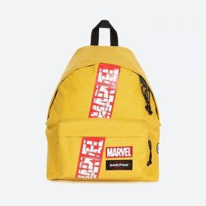 תיק איסטפק לגברים EASTPAK x Marvel Padded Pakr - צהוב