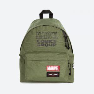 תיק איסטפק לגברים EASTPAK x Marvel Padded Pakr - ירוק זית