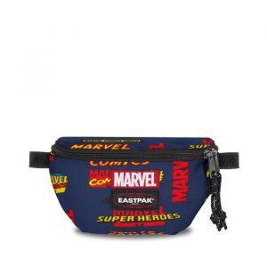 תיק איסטפק לגברים EASTPAK x Marvel Springer - צבעוני כהה