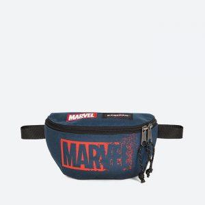 תיק איסטפק לגברים EASTPAK x Marvel Springer - כחול כהה