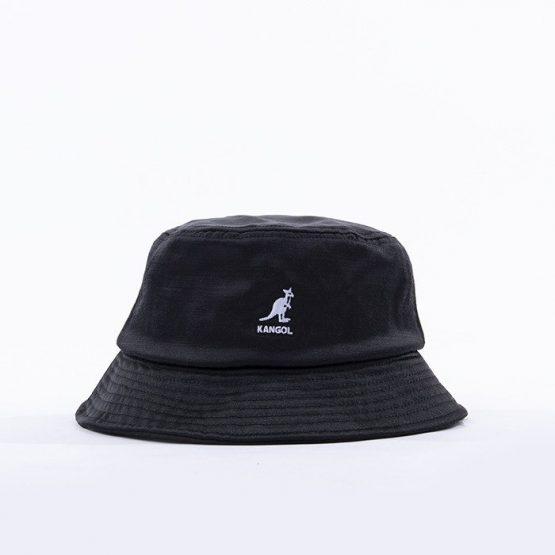 כובע קנגול לגברים Kangol Liquid Mercury Bucket Hat - שחור