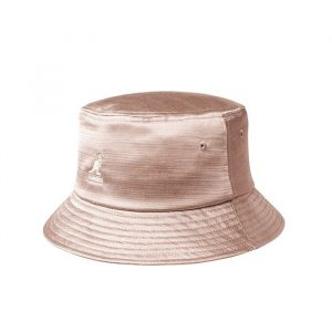 כובע קנגול לגברים Kangol Liquid Mercury Bucket Hat - ורוד בהיר