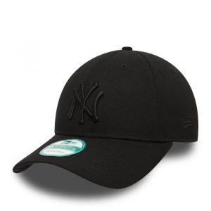 כובע ניו ארה לגברים New Era 9Forty  York Yankees - שחור מלא