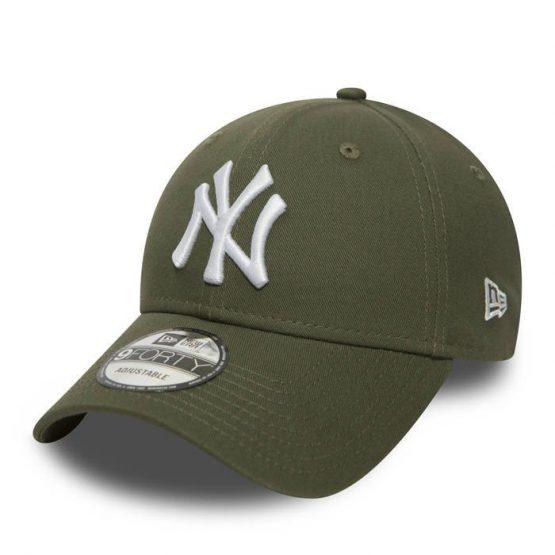 כובע ניו ארה לגברים New Era 9Forty  York Yankees - ירוק זית