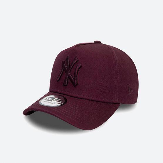 כובע ניו ארה לגברים New Era Colour Essential York Yankees - בורדו