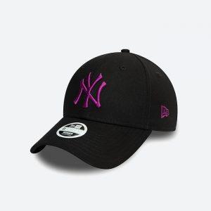 כובע ניו ארה לגברים New Era Colour Essential York Yankees - שחור