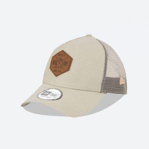 כובע ניו ארה לגברים New Era Heritage Patch 940 - אפור בהיר