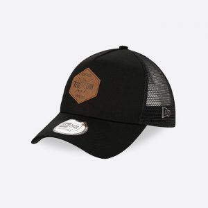 כובע ניו ארה לגברים New Era Heritage Patch 940 - שחור