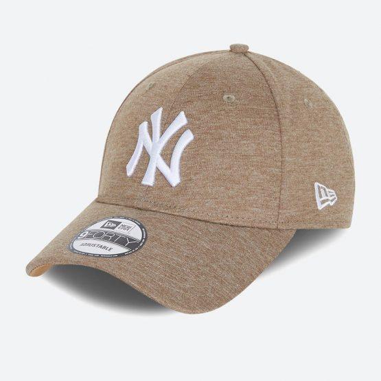 כובע ניו ארה לגברים New Era Jersey Essential  York Yankees - בז'
