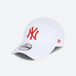 כובע ניו ארה לגברים New Era League Essential 9Forty  York Yankees - לבן