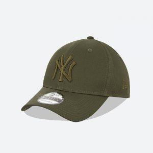 כובע ניו ארה לגברים New Era League Essential  York Yankees - ירוק