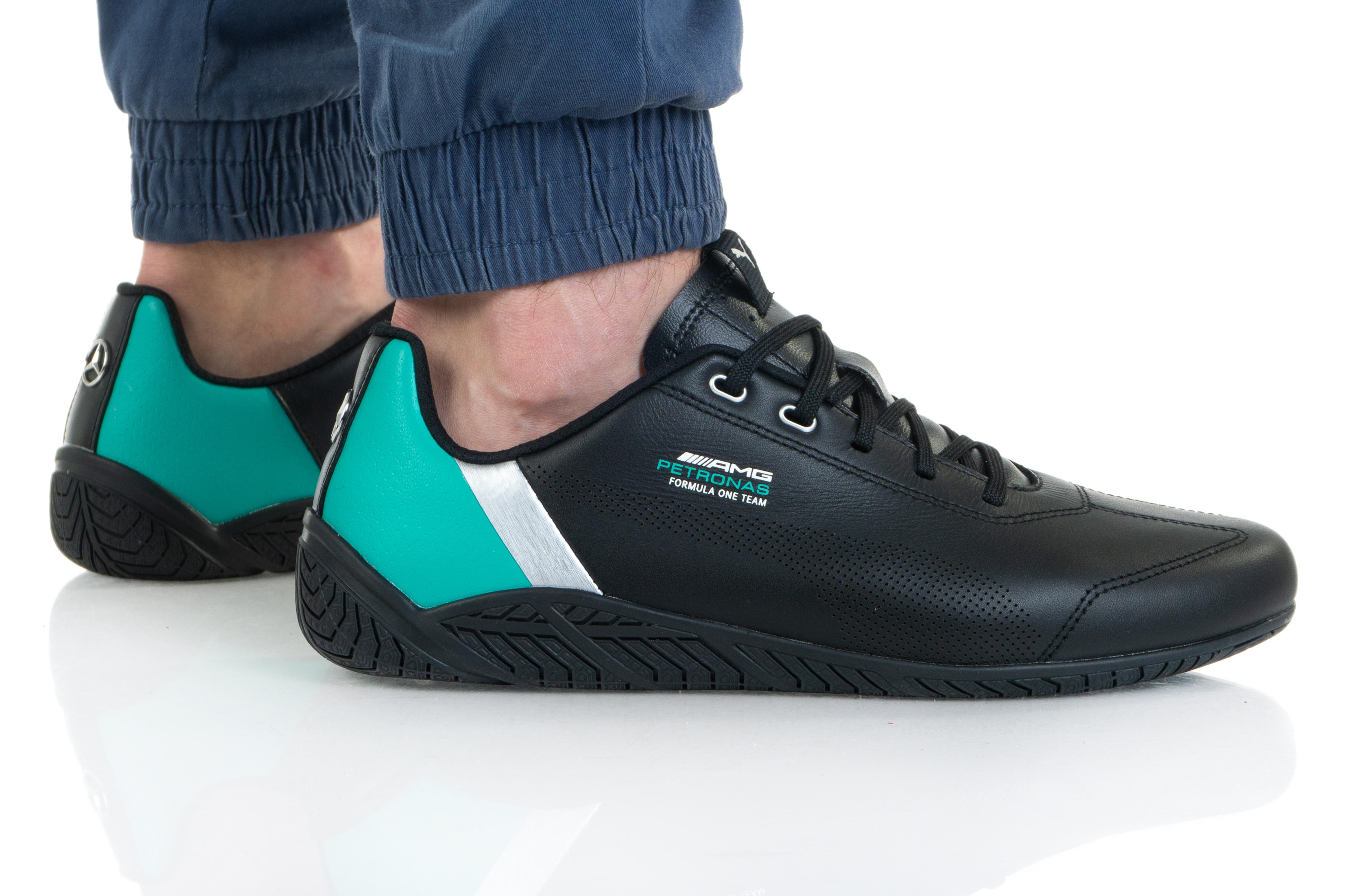 נעלי סניקרס פומה לגברים PUMA MAPF1 RDG CAT - שחור