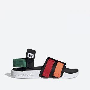 סנדלים אדידס לנשים Adidas New Adilette Sandal - צבעוני/שחור
