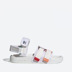 סנדלים אדידס לנשים Adidas New Adilette Sandal - צבעוני/לבן