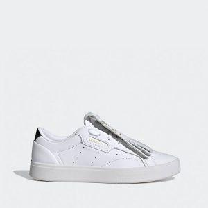 נעלי סניקרס אדידס לנשים Adidas Sleek - לבן/שחור