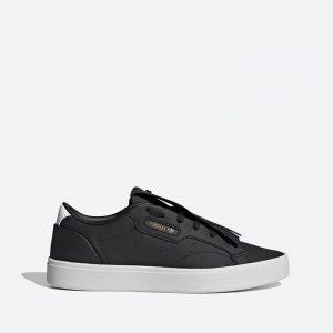 נעלי סניקרס אדידס לנשים Adidas Sleek - שחור/לבן
