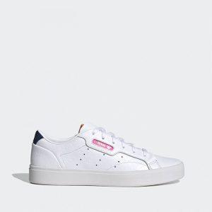 נעלי סניקרס אדידס לנשים Adidas Sleek - לבן/ורוד