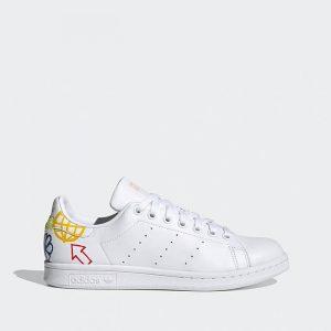 נעלי סניקרס אדידס לנשים Adidas Stan Smith - צבעוני/לבן