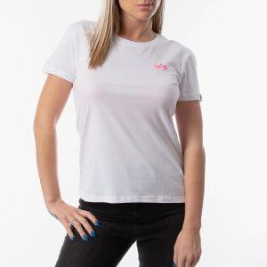 חולצת T אלפא אינדסטריז לנשים Alpha Industries Basic T - לבן