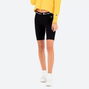 טייץ צ'מפיון לנשים Champion Bike Shorts - שחור