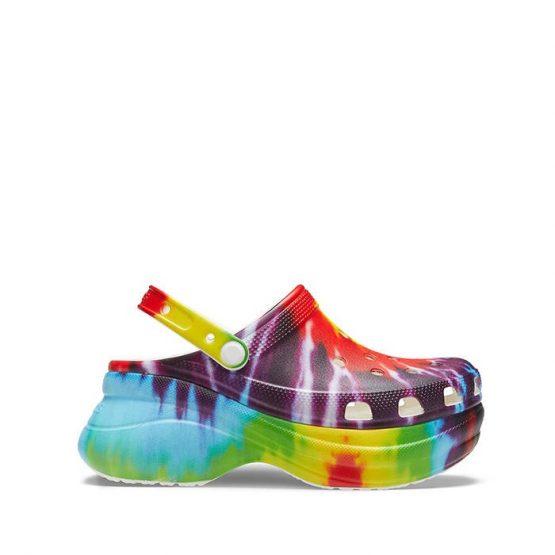 כפכפי Crocs לנשים Crocs Bae Tie Dye Graphic Clog - צבעוני