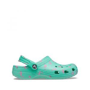כפכפי Crocs לנשים Crocs Classic Vacay Vibes Clog - ירוק
