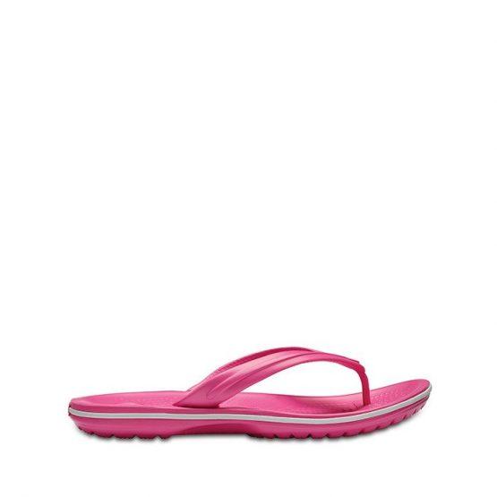 כפכפי Crocs לנשים Crocs Crocband Flip - ורוד