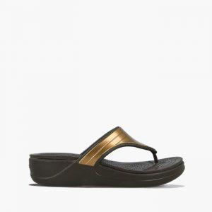 כפכפי Crocs לנשים Crocs Monterey Metallic - שחור
