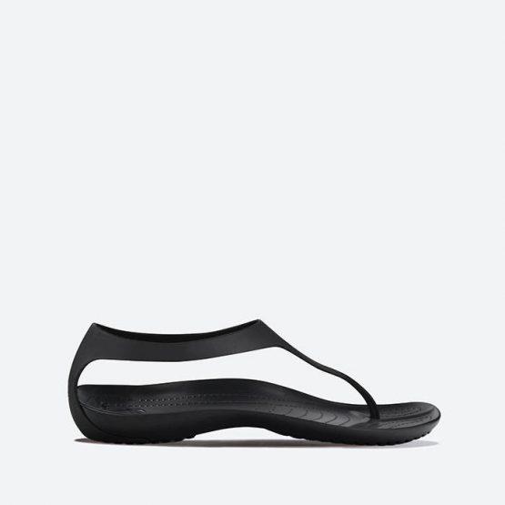 כפכפי Crocs לנשים Crocs Sexi Flip - שחור