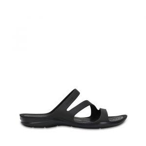 כפכפי Crocs לנשים Crocs Swiftwater - שחור