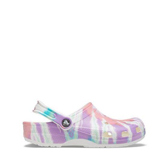 כפכפי Crocs לנשים Crocs Tie Dye Graphic Clog - צבעוני בהיר