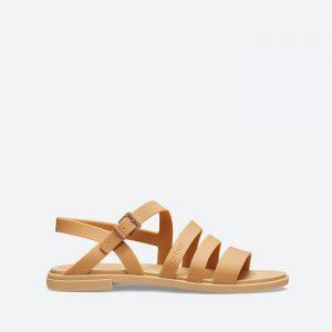 סנדלים Crocs לנשים Crocs Tulum Sandal 2 - חום