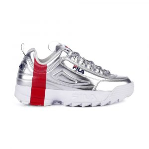 נעלי סניקרס פילה לנשים Fila Disruptor II Gift - כסף