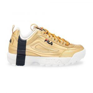 נעלי סניקרס פילה לנשים Fila Disruptor II Gift - צהוב