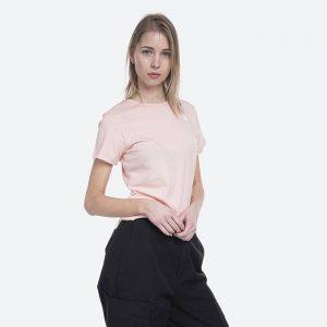 חולצת T דה נורת פיס לנשים The North Face S/S Simple Dome - ורוד בהיר